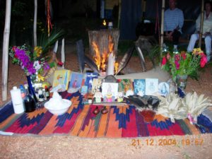 Shamanic Fire Altar
