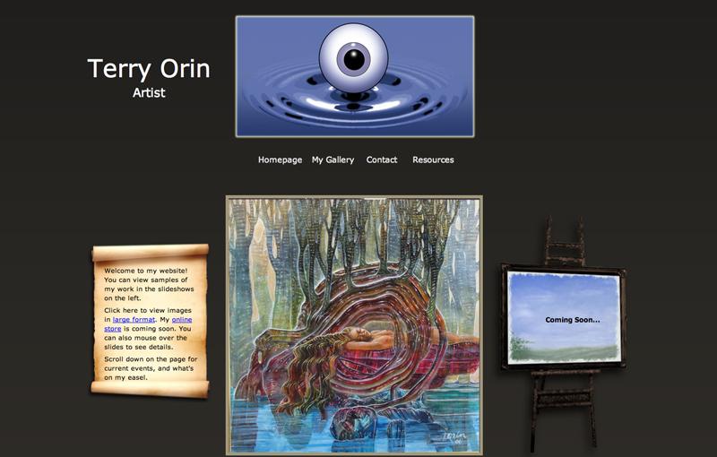 Terry Orin, Artist
