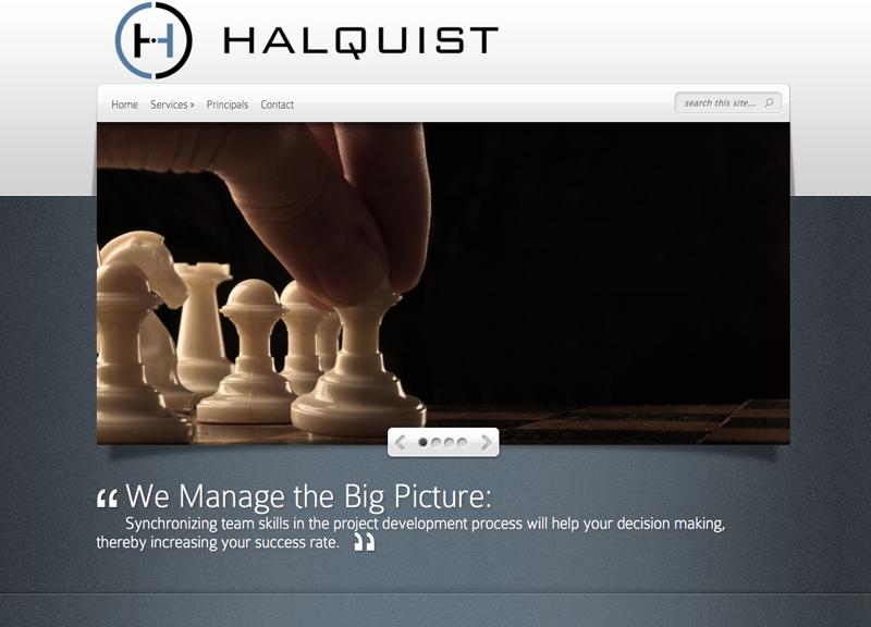 Halquist Companies- A small business website