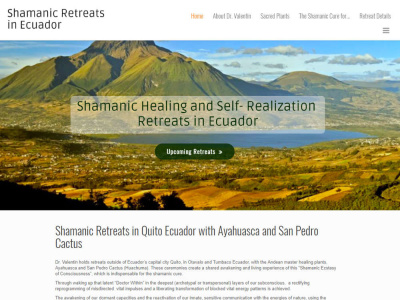 Shamanic Retreats Ecuador